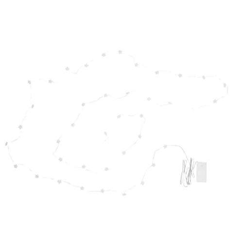 IKEA STRALA mini LED Lichterkette (40) batteriebetrieben; Sterne; Weihnachtsbeleuchtung