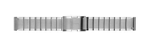 Garmin Acc, quatix 5 22mm Quickfit Stainless Steel Band, 010-12496-20 (Stainless Steel Band)