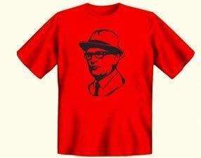 Tshirt Erich rot - DDR Waren - DDR Traditionsprodukte - Ostalgie