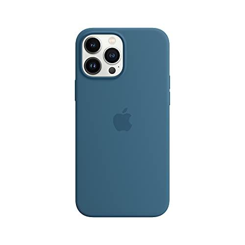 Apple Custodia MagSafe insilicone (per iPhone 13 Pro Max) - Azzurro fiordo