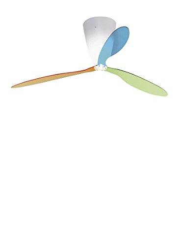 Luceplan Blow Con Telecomando Pale Multicolori