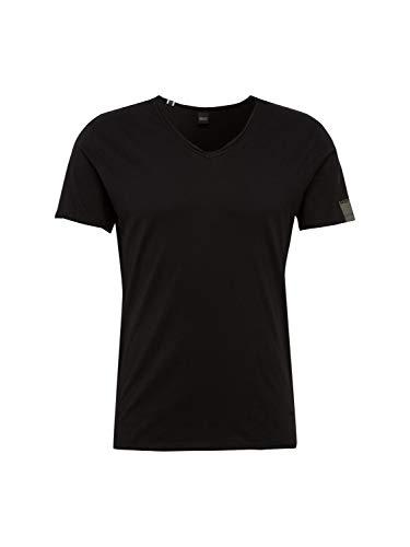 REPLAY M3591 .000.2660 Camiseta, Negro (Black 98), Large para Hombre