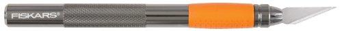 Fiskars 167110-1001 Heavy Duty Die Cast Craft Knife, 8 Inch,Orange