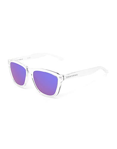 HAWKERS Gafas, TRANSPARENTE/AZUL, One Size Unisex-Adult