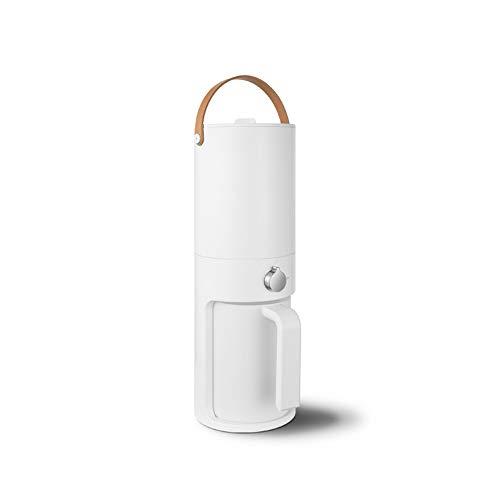 Nye Tragbarer Split-Wasserreiniger, vierstufige Aktivkohlefilter-Weichwasser-Trinkmaschine, unabhängiger Wassertank, geeignet für den Familiengebrauch. Weiß