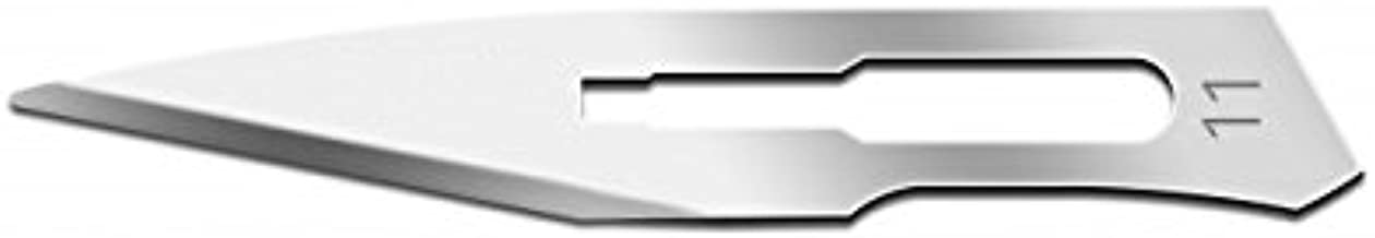 IMS-CBLD11 Box of 100 Scalpel Sterile Blades #11 Carbon Steel Individually Foil Wrapped