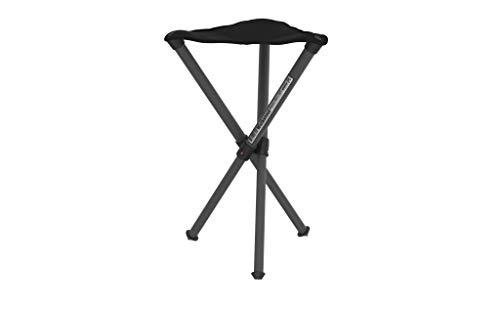Walkstool Basic_50, Sgabello da Campeggio Unisex – Adulto, Nero, Taglia Unica