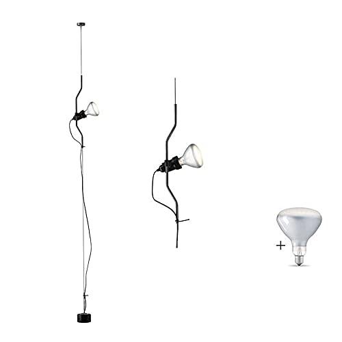 Flos Parentesi F5600030 - Lámpara de techo regulable, color negro