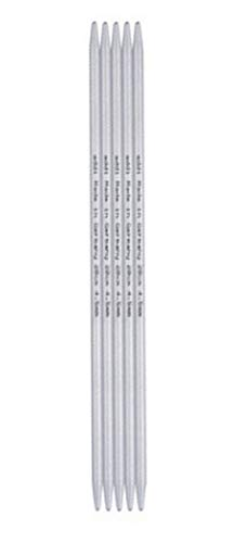 addi Knitting Needle Double Pointed Steel 8 inch (20cm) (Set of 5) Size US 000 (1.5mm)