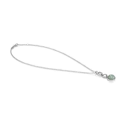 Nomination Halskette Grace Kollektion in Edelstahl mit Cubic Zirkonia und 925er Silber – grün