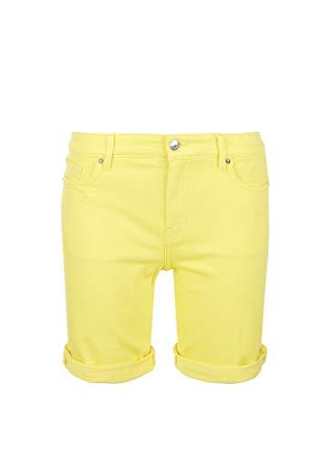 s.Oliver Damen 04.899.72.7182 Hose kurz Jeans-Shorts, Yellow, 40