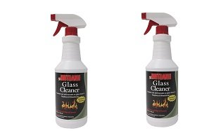 Rutland Fireplace Glass and Hearth Cleaner (2-(Pack)) by