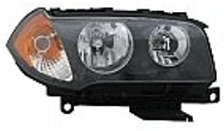 Go-Parts - OE Replacement for 2004 - 2006 BMW X3 Front Headlight Assembly Housing / Lens / Cover - Right (Passenger) 63 12 3 418 424 BM2503139 Replacement For BMW X3