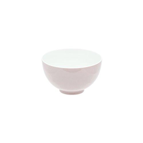 DEGRENNE - Modulo color lot de 6 bols à déjeuner 14 cm , grès de porcelaine - Rose poudré