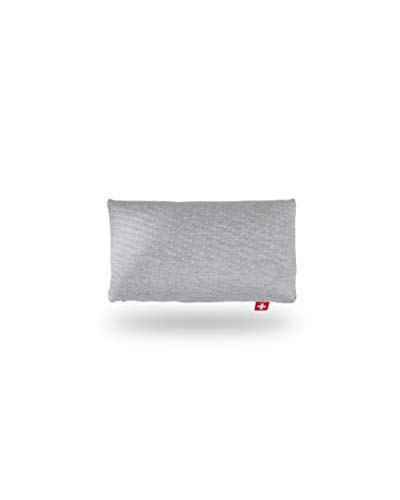 Seven Sundays Funda de almohada de viaje y para niños, sin arrugas con cremallera, sueño reparador, ortopédico ideal de 45 x 24 x 8 cm