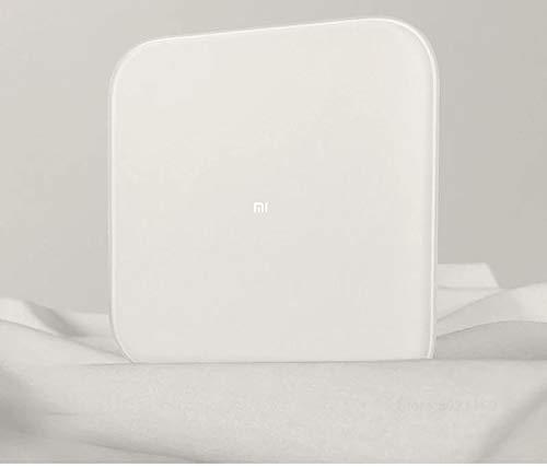 Matefielduk Báscula Bluetooth para Xiaomi,Báscula Peso Corporal para Xiaomi Báscula para Xiaomi Scale 2 Bluetooth 5.0 Inteligente para Xiaomi Weighing Scale 2(280 * 280 * 22mm)