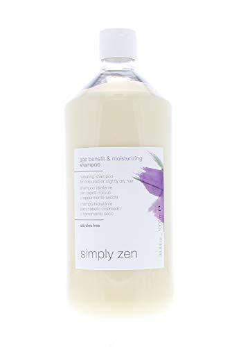 z.one - Simply Zen - Champú antiedad hidratante, 1000 ml, para cabellos...