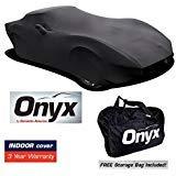 C3 Corvette HIGH END Onyx Black Satin Custom FIT Stretch Indoor CAR Cover FITS: All C3 68-82 CORVETTES