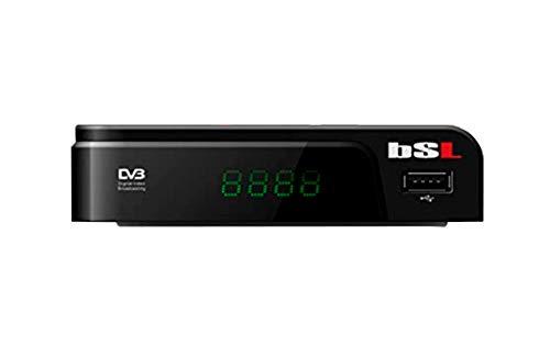 Sintonizador TDT-T2 VBSL-254 | Alta Definición | USB reproductor multimedia | HD-OUT | Euroconector SCART | Mando a distancia.