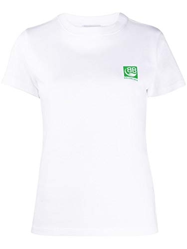 Balenciaga luxe mode dames 578133THV639000 wit T-shirt |