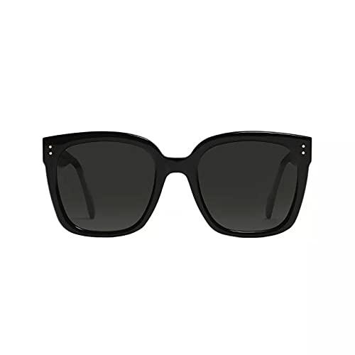 BAJIE Gafas de Sol, Nuevas Gafas de Sol para Pareja, Gafas de Sol FF polarizadas con Cara Redonda para Hombre, Gafas de Sol polarizadas FF con Cara Grande y Viento para Mujer