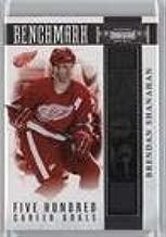 Brendan Shanahan #58/99 (Hockey Card) 2010-11 Panini Dominion - Benchmark Sticks #1