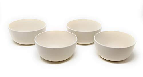 Kucly Cuencos de Cereales Biodegradable Apto para el Microondas/Bambú / 500 ml/Ø:...