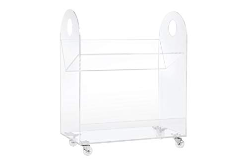 Babyletto Presto Bookcase and Cart in Acrylic