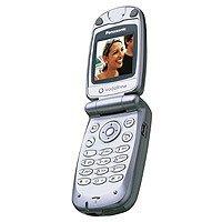 Panasonic X60 Handy DualBand GSM 900 / 1800 GPRS silber