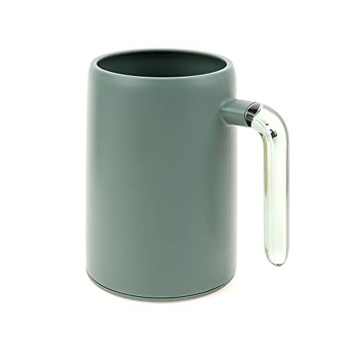 LotCow - Porta spazzolino da denti da bagno, bicchiere per acqua e dentifricio, supporto per bicchieri da bagno, ideale come regalo per bambini, coppie, amici
