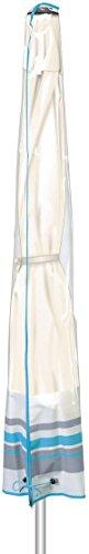 Golden Lutz FLORABEST ® Sonnenschirm-Schutzhülle für 2 m Schirme (ca. L 130 x B 20/40 cm)