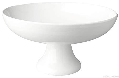 ASA Obstschale, Keramik, Weiß, 33 cm