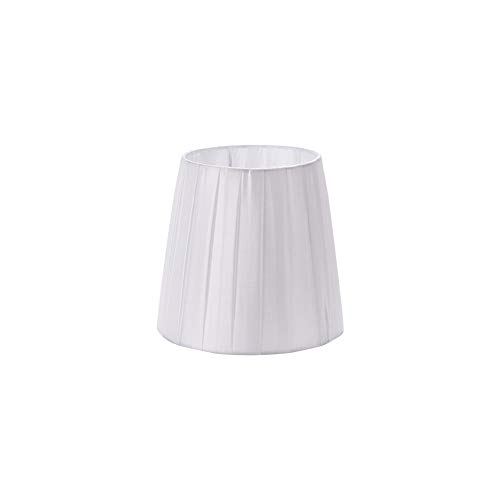 "DULEE 4.3"" x 5.5"" x 6"" E14 Lampenschirme für Kerze Kristall Kronleuchter Wand Lampe Droplight Kleine Lampenschirme,Weiß"