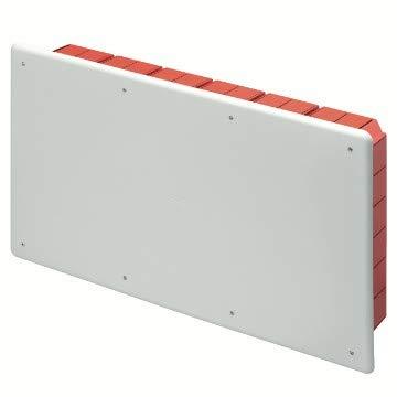 Gewiss Cassetta Scatola di derivazione e connessione per pareti in muratura con guida DIN Dimensioni 516x294x90 Coperchio Bianco RAL9016 GW48011