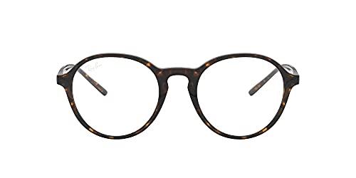 Ray-Ban Rx7173f Asiático Fit Round Prescription Gafas Marcos