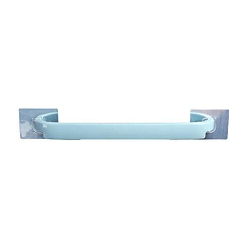 Z-LIANG Autoadhesivo Titular de Toallas montado en la Pared suspensión de la Toalla de baño Toalla Estante Portarrollos Gancho Colgante del baño Organizador Decoración (Color : Blue)