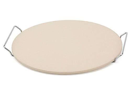 Bialetti Pizzastein mit Gestell, 37,5 cm