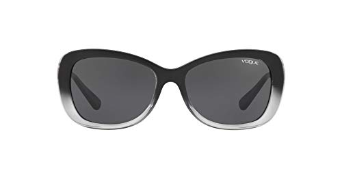 Vogue 0VO2943SB Gafas de sol, Top Black Grad Grey Tr, 54 para Mujer