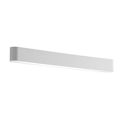 Teca LED W3 Wandleuchte, weiß matt Diffusor aluminium BxHxT 96x6,5x8,5cm 3000K 4200lm