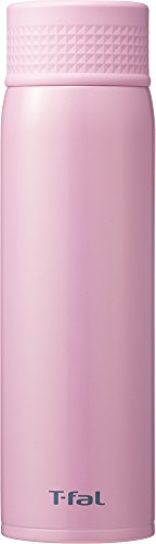 ティファール 水筒 500ml 直飲み ステンレスマグボトル クリーンマグ 軽量タイプ Ag+抗菌仕様 プティローズ