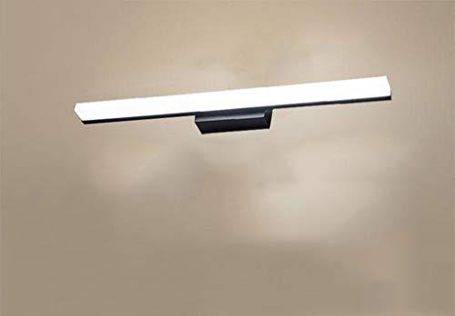 Carl Artbay Shuai Beautiful lamp/ * Badkamer spiegellampen, LED waterdichte mist badkamer toilet wand zink wastafelkast lampen (kleur: goud-warm licht-40cm)