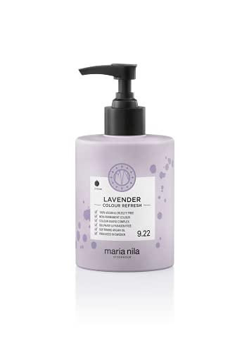 Maria Nila Colour Refresh - Lavender 300ml   Eine revolutionäre Farbmaske zur Auffrischung und Intensivierung der Haarfarbe