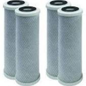Compatible to GE FXUTC Drinking Water System Replacement Filters, 4 Pack by CFS
