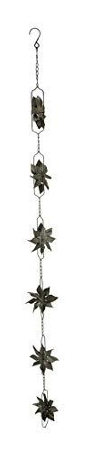 Distinctive Designs Regenkette aus Metall, mit Aufhängung, 121,9 cm Modern One Size braun