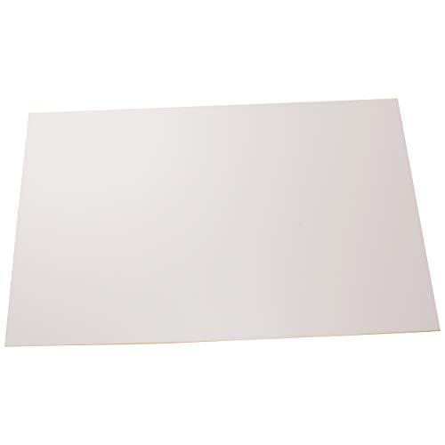 Placas de poliestireno placas PS placas blanco fuerte, rigido, duro plásticas para modelismo/manualidades en blanco, diferentes tamaños y cantidades, comprar 1 piezas, 297mm x 210mm x 1mm