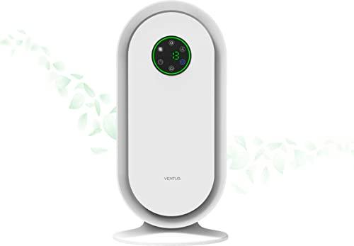 Purificador de Aire HEPA H13 + Carbón Activo | LUZ UV | Caudal 300m3/h | 99,97% de eficacia | Control inteligente con pantalla táctil.
