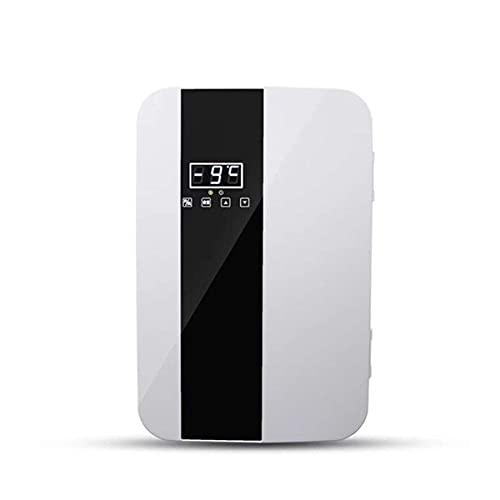 Pkfinrd Mini Fridge 22L Cooler Compact and Warmer Mini Fridge con termostato Digital + refrigeración de Doble núcleo para automóviles, excursiones por Carretera, Casas, oficinas y dormitorios