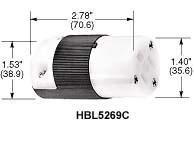 (10) HUBBELL Vari-Size HBL5269C InsulGrip Connectors -New In Box- 10 Connectors RETAIL $340+!!!