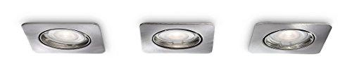PHILIPS Smart Spots, Einbauspots  mit 50W, EEK A+, inklusive Leuchtmittel, 3-flammig 596831716