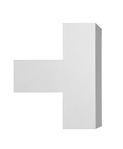Flos Wandleuchte Tight Light in der Farbe weiß, aus Aluminium hergestellt, Größe: 10x16x13cm, F0011009
